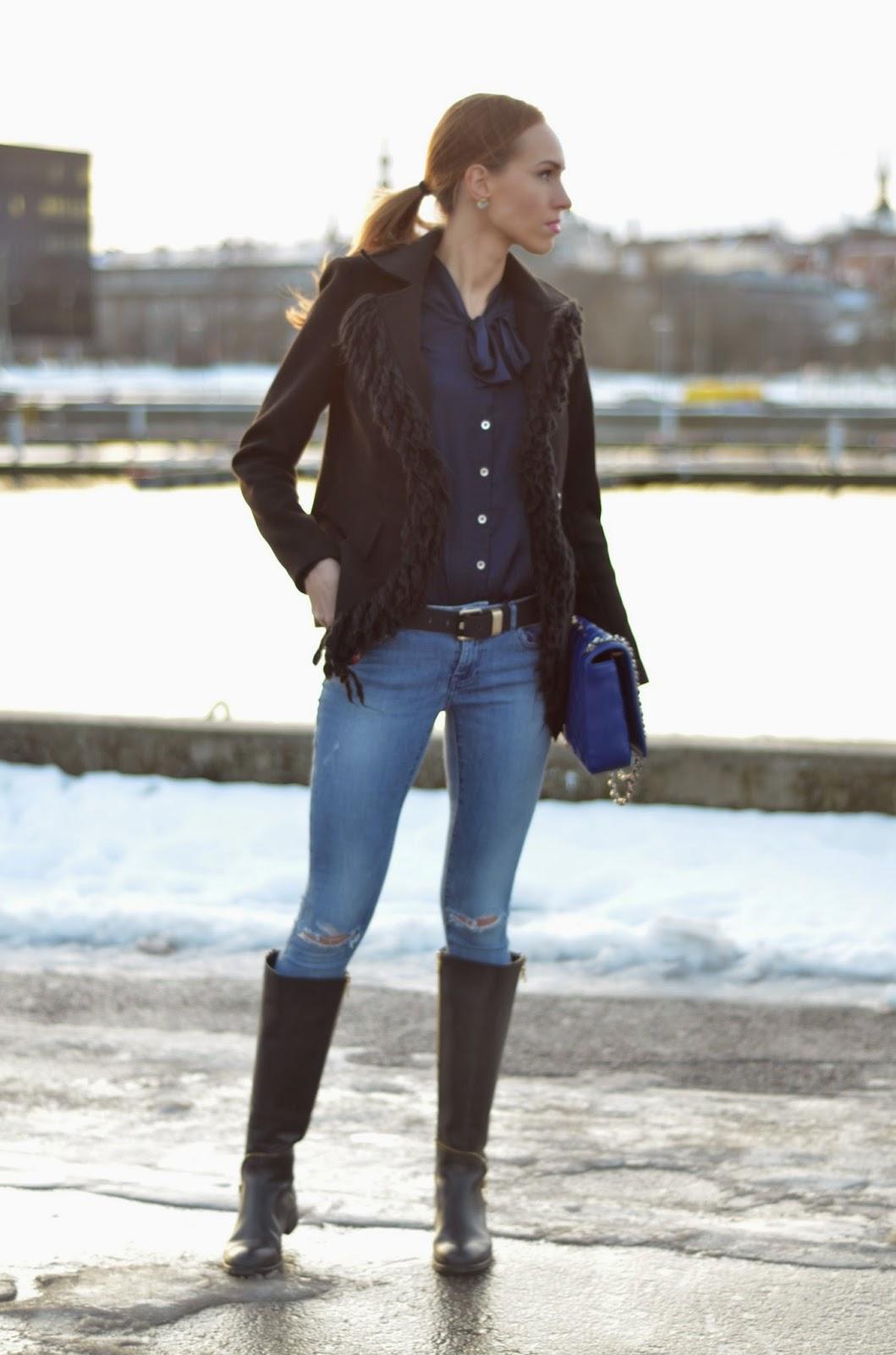monton-fringe-jacket-zara-jeans-noa-boots kristjaana mere