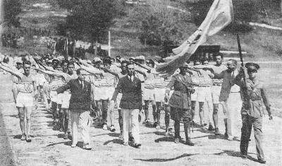 Entrada en la Habana de la delegación guatemalteca en 1930