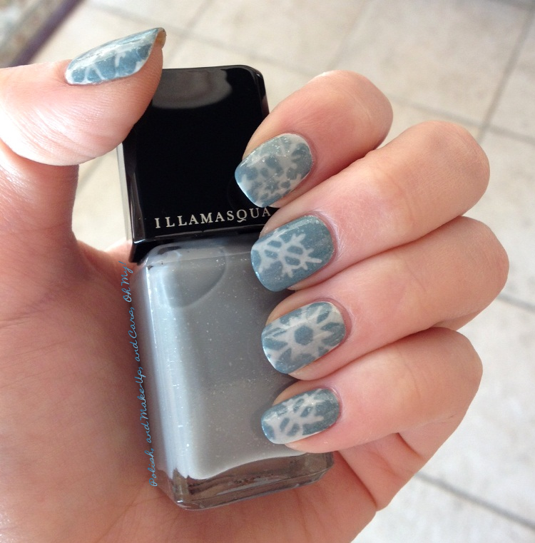 To Recreate This Design We Suggest Start By Priming Your Nails With Illamasquas Base Coat