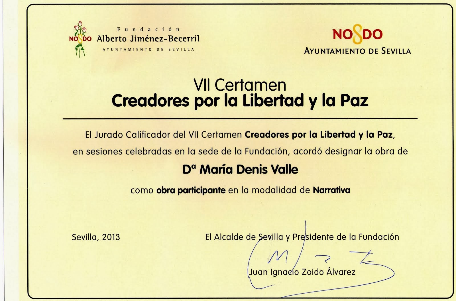 Por la Libertad y la Paz