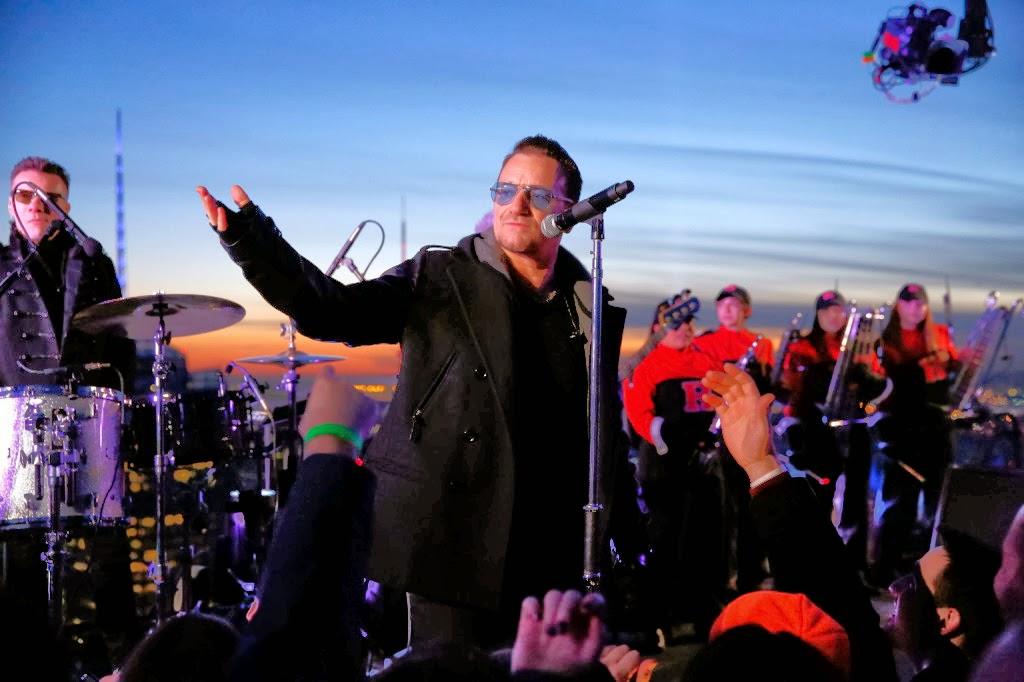 The Tonight Show, Jimmy Fallon, U2, Ordinary Love, Invisible,