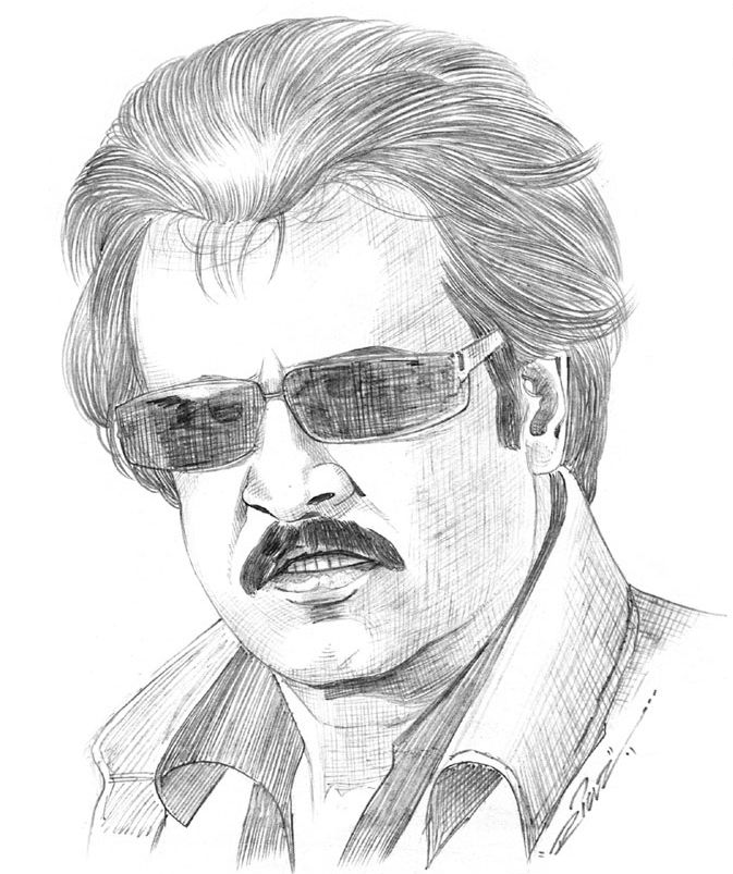 1 - Bollywood celebs pencil art
