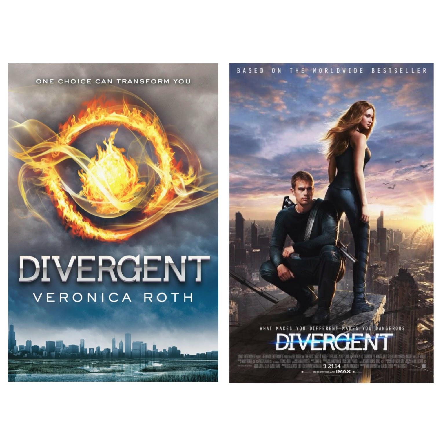 divergent book movie comparison review reads by amanda