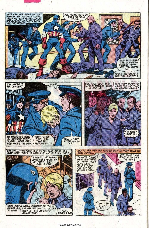 Captain America (1968) Issue #260 #175 - English 24
