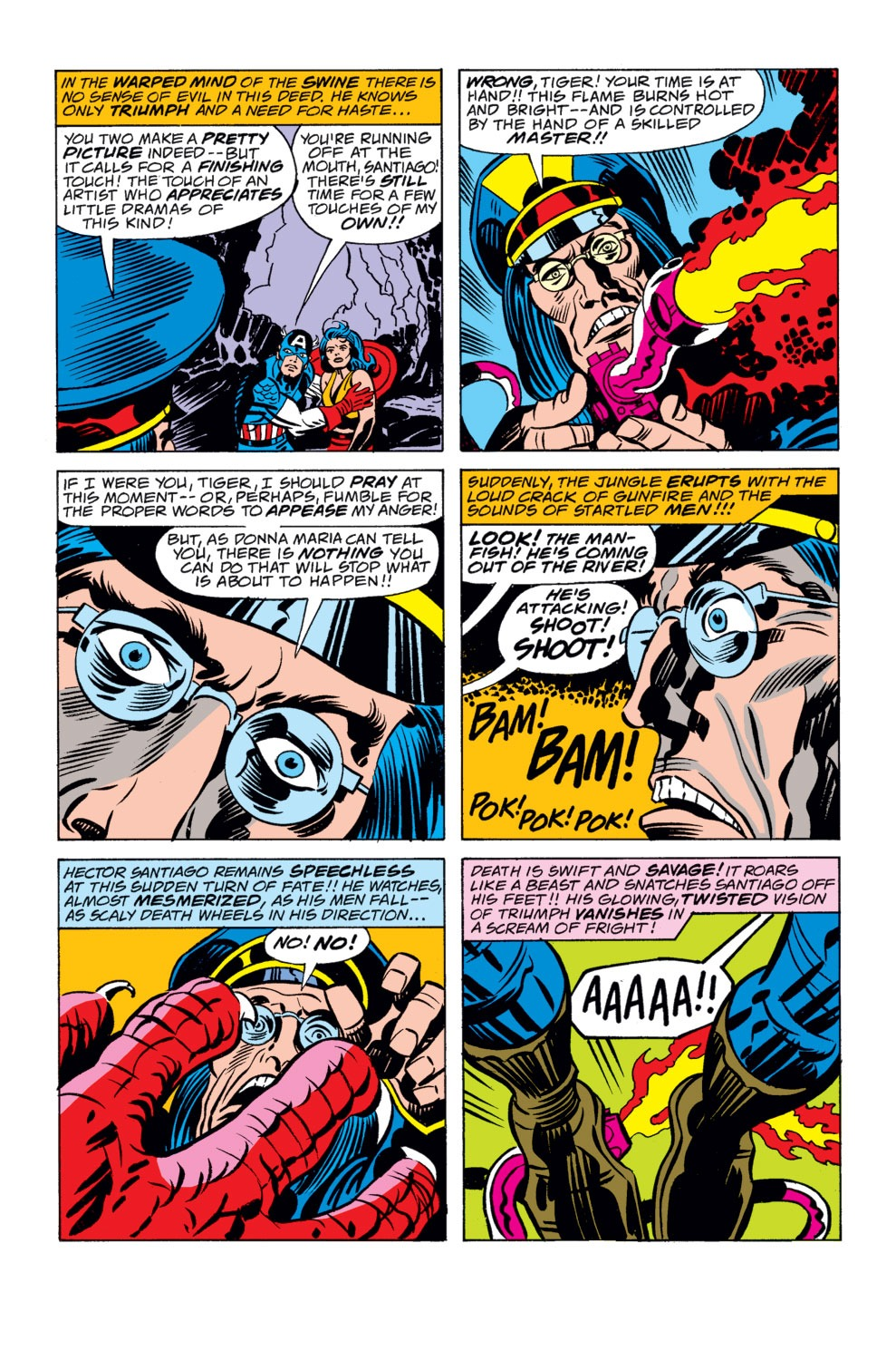Captain America (1968) Issue #208 #122 - English 13