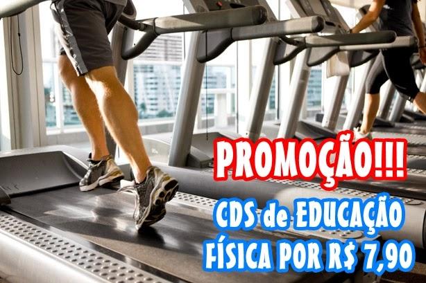 Cds de Educação Física por R$ 7,90. Frete Grátis!