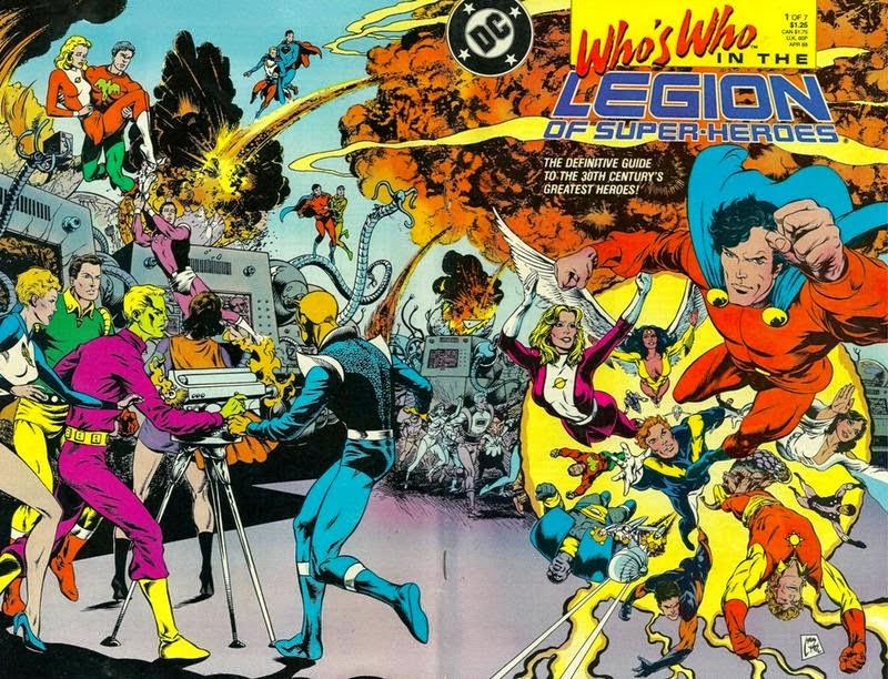 Legion of Superheroes Members Who Legion of Superheroes