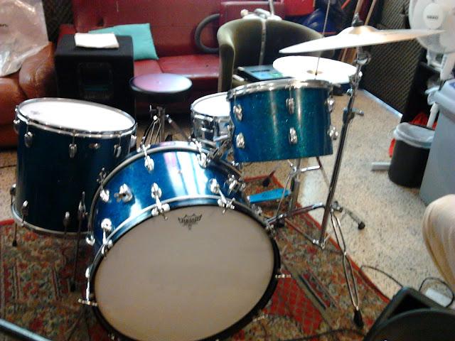 Slingerland drum - rehearsal room
