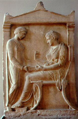 historiadelhabitat gmail comGrave Stele Of Ktesilaos And Theano