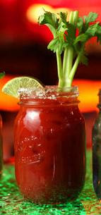 bloody mary in a pint jar