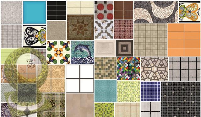Vismat arq recursos for Azulejos para sketchup 8