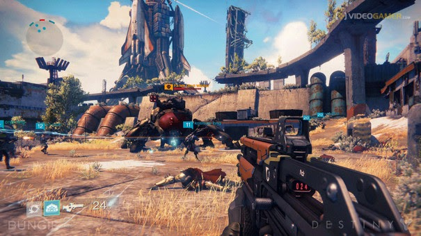 Gameplay del videojuego  Destiny PS4
