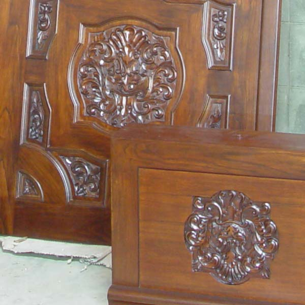 Wooden Door Design Kerala Style