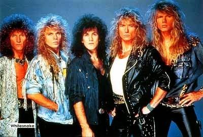 Formación de gira de Whitesnake-1987