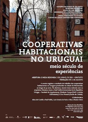 exposição de Cooperativas Habitacionais Uruguaias
