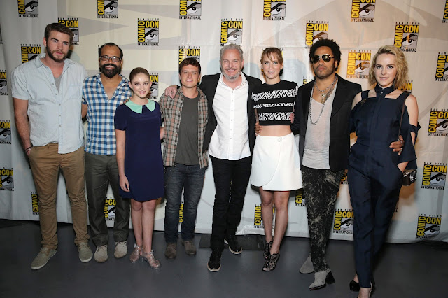 Welcome to District 12: Comic-Con Catching Fire Interview ROUNDUP!