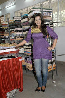 Model Soujanya Pictures at Ikat Art Mela 2013 Function