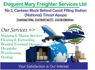 Eloquent Mary Freighter Services Ltd