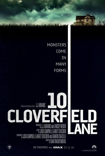 Film 10 Cloverfield Lane 2016 Bioskop