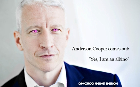 chicago news bench anderson cooper admits he s albino i
