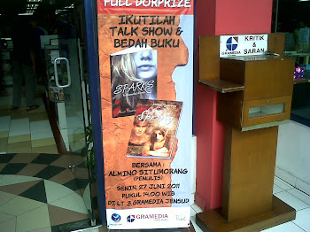 Talkshow 27Jun11 di Gramedia Yogya
