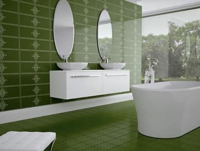 Desain Lantai Kamar Mandi Indah Modern