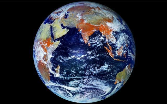 121 MegaPixel Photo Of Earth