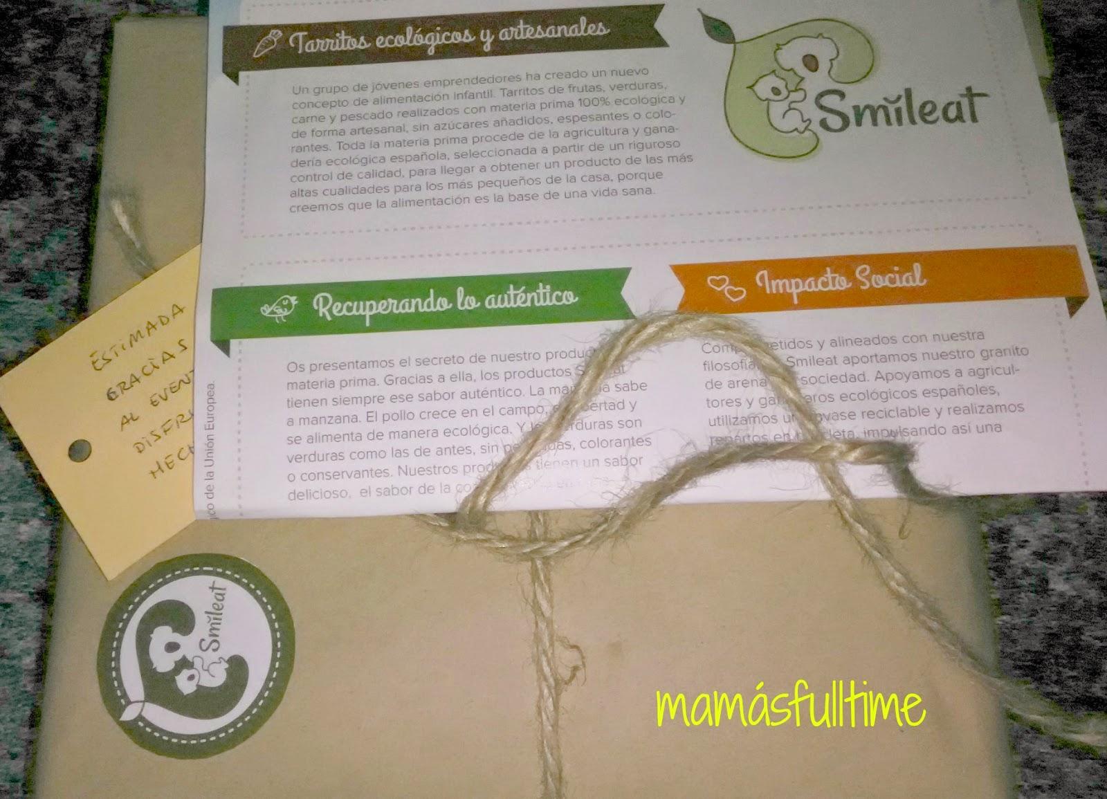 Smileat comida ecológica bebés