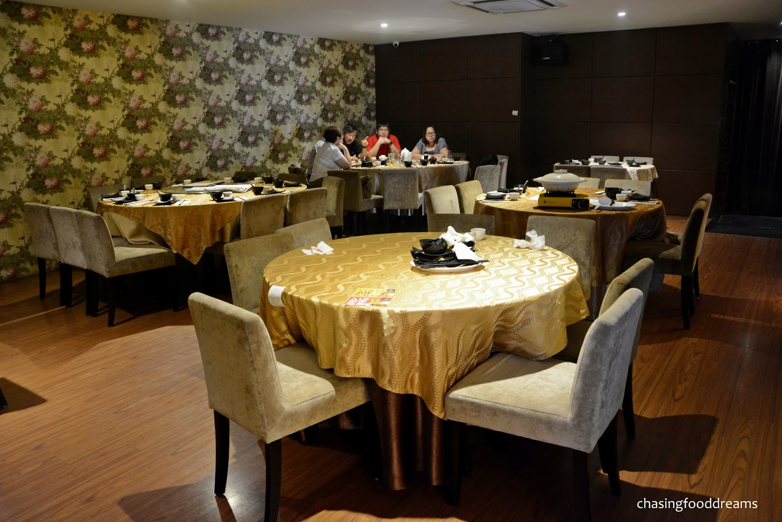 Chinese Themed Dining Room