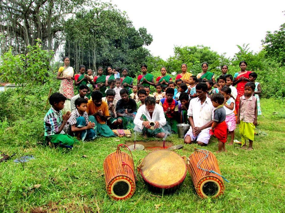 Belboron bonga santhali worship