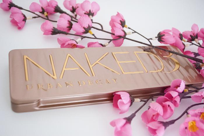 Swatch et makeup avec la palette naked 3
