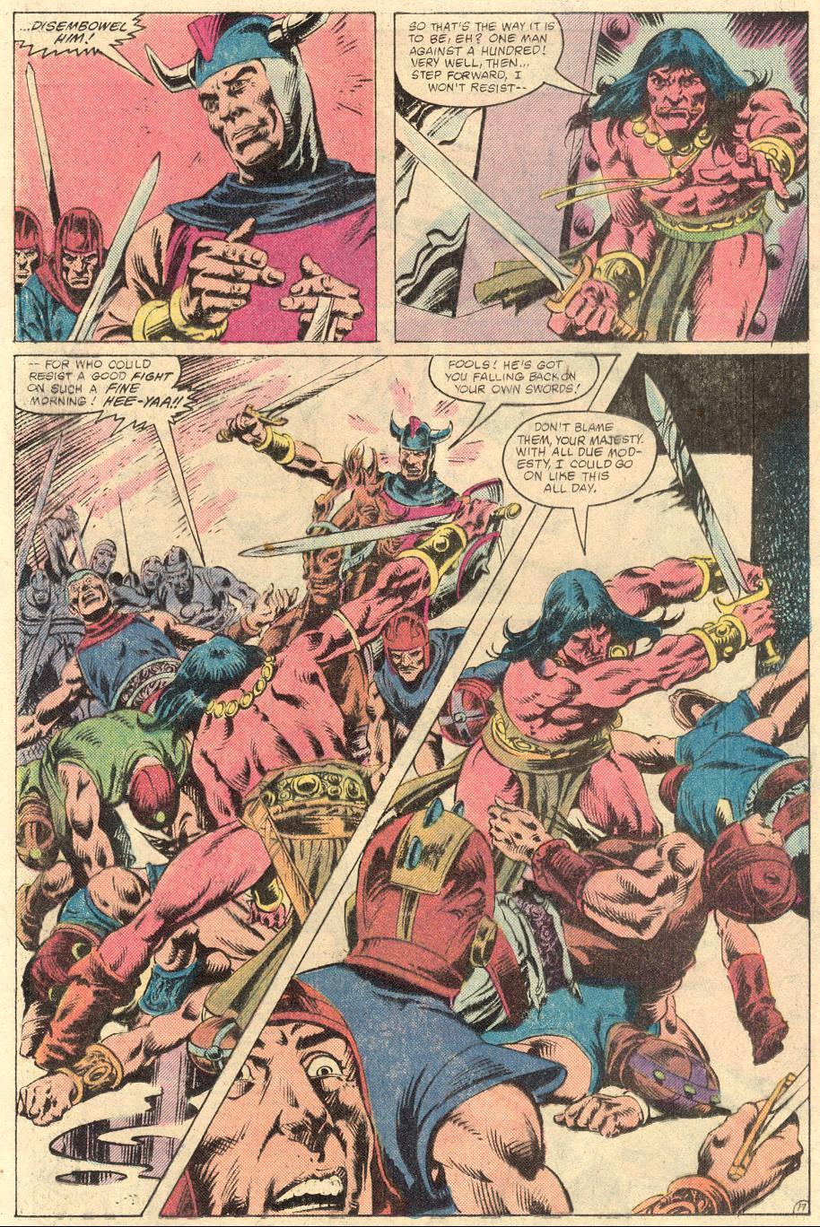 Conan the Barbarian (1970) Issue #133 #145 - English 19