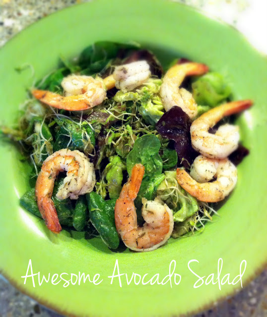 Awesome avocado salad