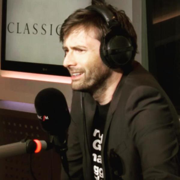 David Tennant at Classic FM