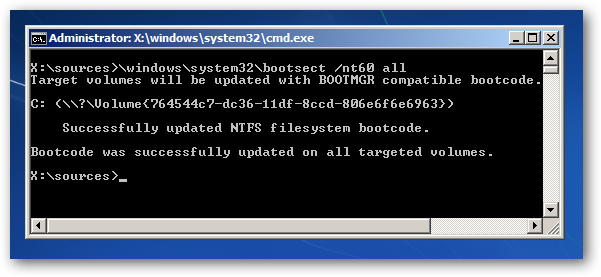 techguy how to manually repair windows 7 boot loader problems rh andikusumablog blogspot com Ntldr Missing Fix Ntldr Is Missing Windows Vista