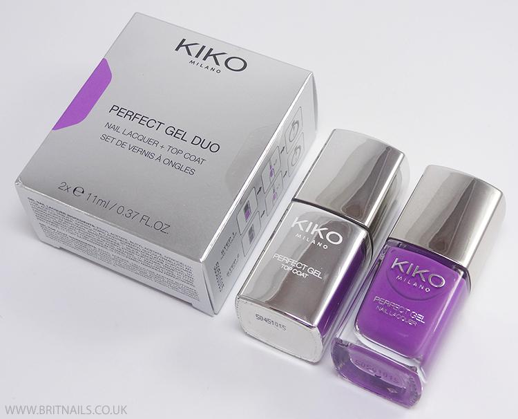 Kiko Perfect Gel Duo