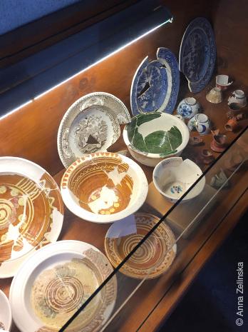 Фрагменты посуды в Старом Баре, Черногория