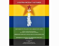 """LIBROS ENEMIGOS CONTRARREVOLUCIONARIOS """"CONTRA MITOS Y ALTARES"""" CRUCIGRAMA"""