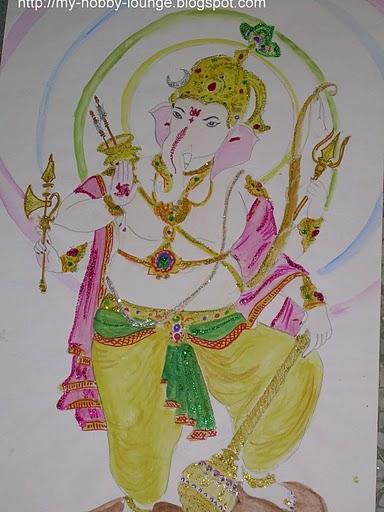 Vinayagar Drawings