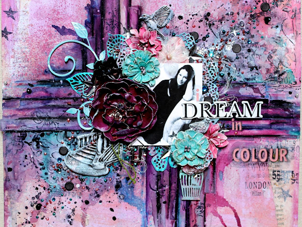 I Dream In Colour - Scrapbook Page