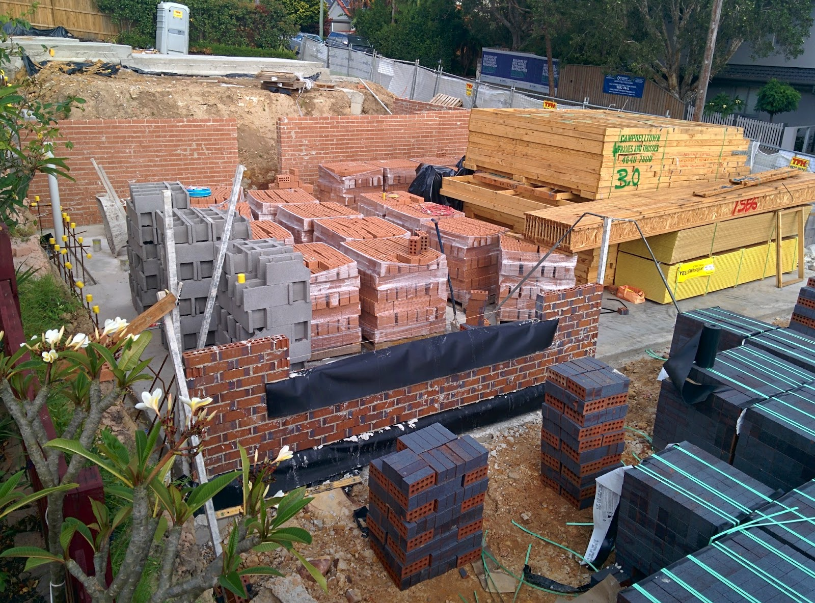 Our Brilliant Build The Brick Laying Has Started