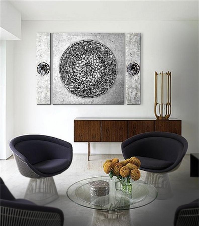 Cuadros online cuadros plateados plata for Comprar cuadros modernos online baratos