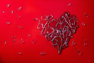 broken heart broken glass heartbreak