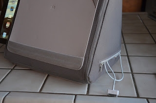 Win a Domeo Tri Lounger iPad LapDesk side view 3