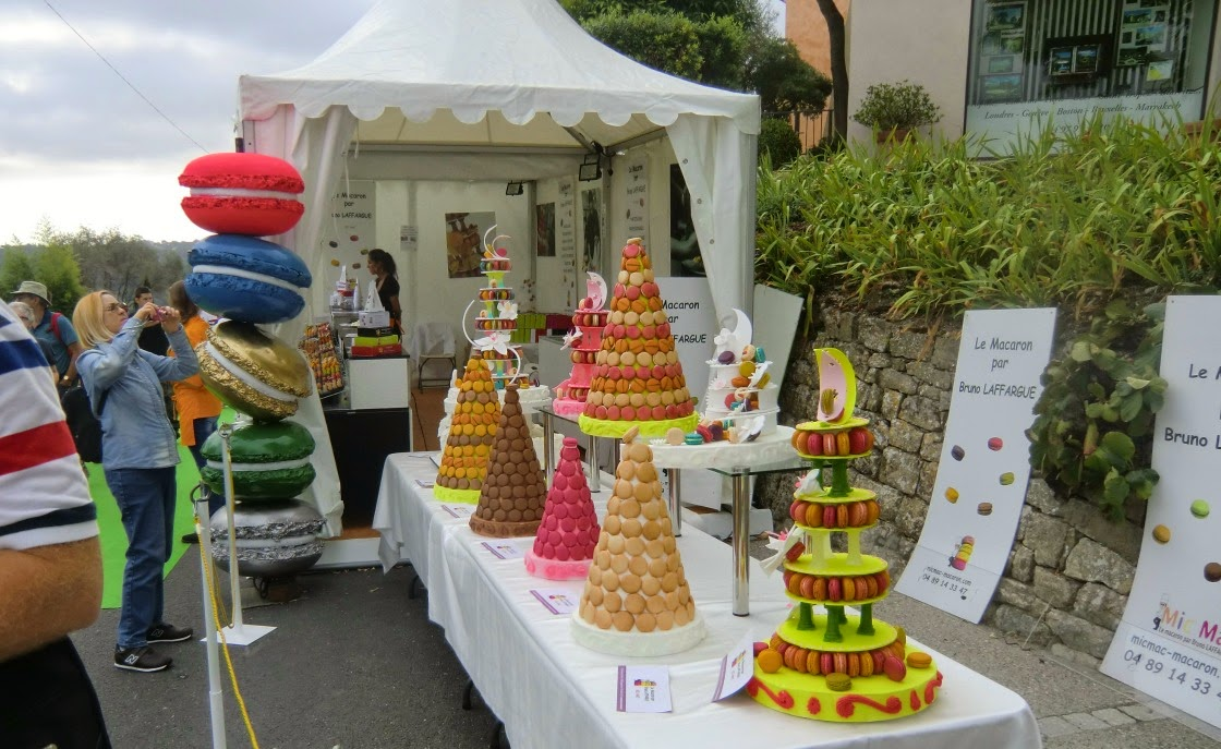 At the entrance of Mougins Festival of Gastronomy