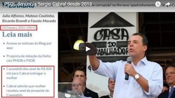 Justiça que TARDA é FALHA! – Só descobriram Cabral depois da bancarrota do Estado do RJ