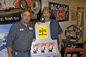 Pick up a Copy of THE EIGHT FINGERED CRIMINAL'S SON at CHANDLER AUTO AND TIRE