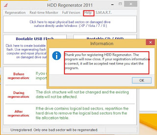Download HDD Regenerator full version with Crack key