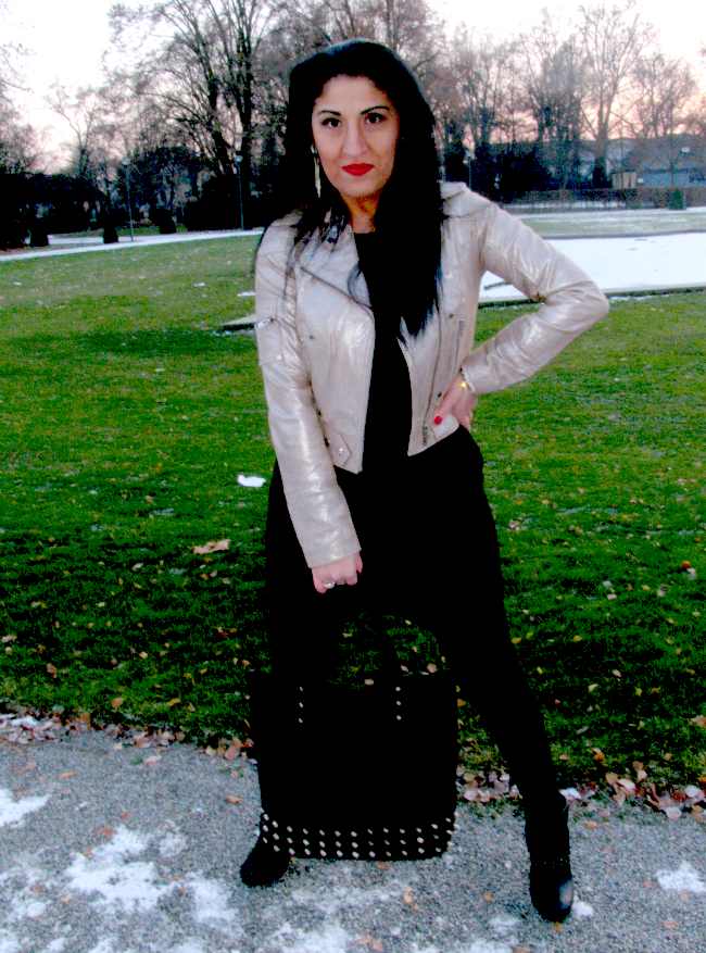After The First Snow - Outfit Post - Madame Keke Blog  - Goosecraft, H&M, Primark