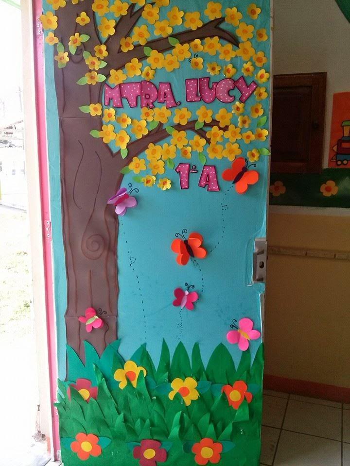 Proyectos educativos y m s ideas para decorar puertas for Ideas para decorar puertas de salon